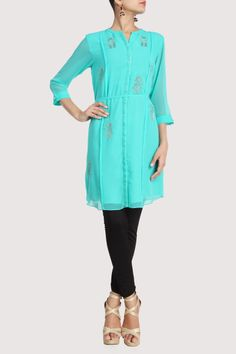 Turquoise blue. Shop Now: www.karmik.in/shopping/index.php