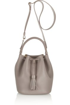 Anya Hindmarch bucket bag (for more bucket bags -- http://chicityfashion.com/bucket-bags/)