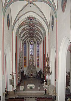 Interior of the Cathedral of the Holy Spirit in Hradec Králové (East Bohemia), Czechia Sacred Architecture, Pilgrimage, Czech Republic, Holy Spirit, Prague, Cathedral, City, Bohemia, Holy Ghost