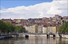 https://flic.kr/p/cs2F2u | Lyon - La Croix-Rousse | Lyon France old city quarter  Pont la Feuillee Saône