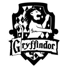 Gryffindor Die Cut Vinyl Decal PV1965