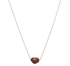 "FOR HIM FOR VALENTINES DAY! REG""$54.99 ON SALE $18.44 Sterling Silver Keshie Shape Freshwater Pearl & Chain"