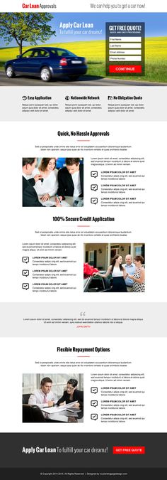 modern landing page design templates to boost your leads & sales | landing page designs