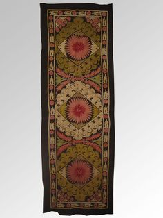 Uzbek Tdjik region silk handmade embroidery suzani