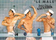 Jean Paul Gaultier erlangte 1984 mit seiner ersten Herrenkollektion und dessen Darstellung freizügiger Männer Weltberühmtheit. Seither gilt er als Enfant terrible und Vater der Männermode. Jetzt wurde der erste Männerduft von Jean Paul Gaultier kreiert. Jean Paul Gaultier, Gay Symbols, History Of Jeans, Brighton Pride, Augusta Alexander, Le Male, Advertising Campaign, Everyone Knows, Male Models