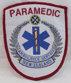 Paramedic Ambulance Service New Zealand Patch Patches For Sale, Astros Logo, Houston Astros, Ambulance, Selling On Ebay, Porsche Logo, Team Logo, New Zealand, Australia