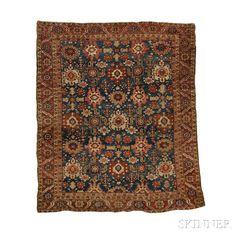 Bahkshaish Carpet | Sale Number 2653B, Lot Number 111 | Skinner Auctioneers