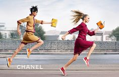 COCO COACH LA CAMPAGNE AUTOMNE-HIVER 2014/15 – Chanel News #CaraDelevingne #BinxWalton