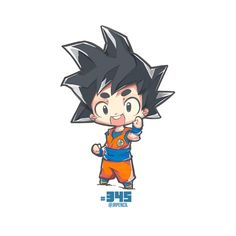 Chibi goku by jrpencil Anime Chibi, Chibi Goku, Kawaii Chibi, Cute Chibi, Manga Anime, Chibi Characters, Cute Characters, Chibi Marvel, Chibi Superhero