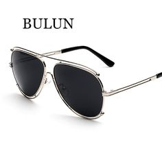 BULUN High Quality Metal Sunglasses Women/Men Classical UV400 Shades Driving outdoors Mirror Sun Glasses Unisex Oculos De Sol