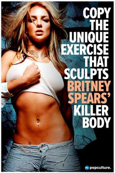 Britney Spears works multiplemuscle groups (plus burns tons of calories and fat) with this unique exercise. Copy the move here!