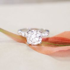 An engagement ring made for you. #BrilliantEarth