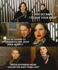 I ship these two soooooo hard! The finale of season 3 had me drowning in feels and then boom. Bye bye shippy ship. It was nice knowing you. Best Shows Ever, Best Tv Shows, Favorite Tv Shows, Movies And Tv Shows, Outlaw Queen, Regina Mills, Me Tv, Evil Queens, All About Time