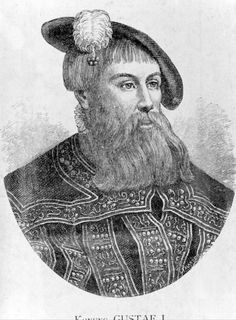 January 12, 1528: A very important national figure in Sweden, if not the most important, Gustav Vasa, is crowned King of Sweden. Gustav Vasa, Gustav I of Sweden, born Gustav Eriksson, was probably born on May 12, 1496 at Lindholmen mansion in Orkesta parish.