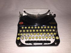 Portable typewriter Remington standard mechanical typewriter by nostalgiehauscom on Etsy https://www.etsy.com/listing/269490568/portable-typewriter-remington-standard