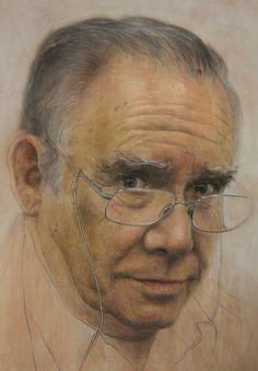 Retrato de Enrique Ramos. Ruben Belloso Adorna