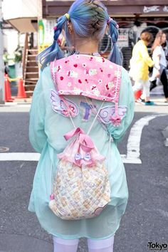 cute fairy kei style. love the pastels