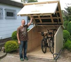 Bildergebnis für portable bicycle shelter