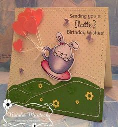 Birthday Bunny! - Sprinkles - Coffee and Tea stamp and die set - Your Next Stamp