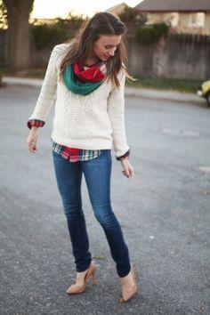 Seasonal Sweaters & Holiday Colors!