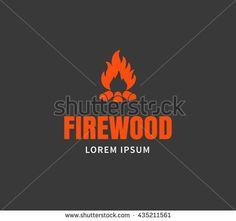 stock-vector-firewood-emblem-or-logo-template-campfire-vector-illustration-435211561.jpg (450×422)