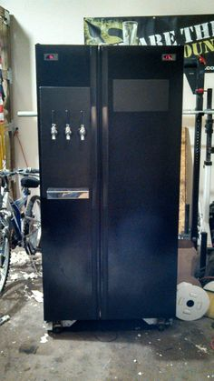 Kegerator and Fermentation Chamber Finally Finished! - Imgur