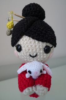 2000 Free Amigurumi Patterns: Free amigurumi: chinese new year doll