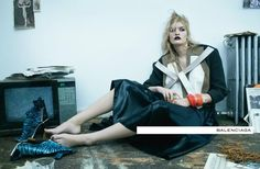 Balenciaga Spring 2012 Ad Campaign  photographed by Steven Meisel