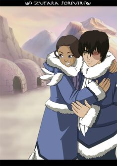 RQ Zutara South pole by Kuro-Akumako.deviantart.com on @deviantART
