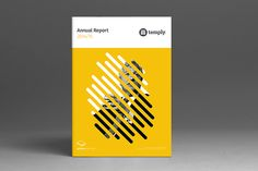 Annual Report Template on Behance