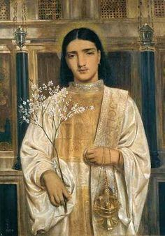 A Saint of the Eastern Church - Simeon Solomon