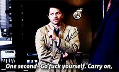 One second. Go Fuck Yourself. Carry on! (my new motto in life!) #gagreel gif