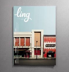 print | ling magazine cover for vueling airlines.