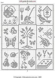 Cross Stitch Bobble Crochet, Knit Or Crochet, Crochet Motif, Crochet Doilies, Crochet Patterns, Filet Crochet Charts, Knitting Charts, Loom Knitting, Crochet Table Runner