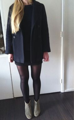 16-10-2012:A.P.C. coat, Mango jumper, custom made skirt, Isabel Marant boots