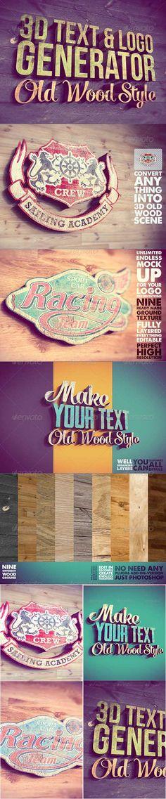3D Text Logo Generator 2 » Free Hero Graphic Design: Vectors AEP Projects PSD Sources Web Templates – HeroGFX.com
