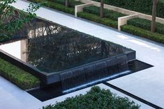 Chengdu Dowell · Yin Yangtze River by JTL Studio Commercial Landscaping, Modern Landscaping, Outdoor Landscaping, Pool Landscape Design, Landscape Architecture, Garden Design, Pavement Design, Fountain Design, Pond Water Features