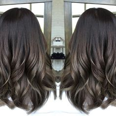 Image result for ash brown hair color for asian