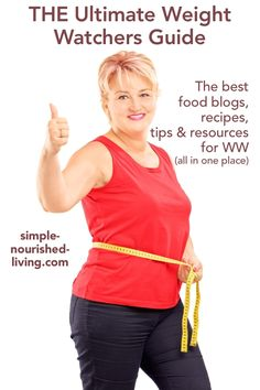 The Ultimate Online Resource for Weight Watchers - A collection of the best food blogs with WW recipes, tips and resources for weight loss success. #WeightWatchers #PointsPlus