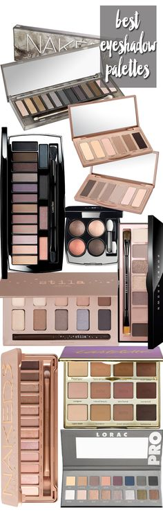 Top 10 Favorite Eyeshadow Palettes - beautifulmakeupsearch.com / I want to have ' Urban Decay Naked Smoky Palette :)'