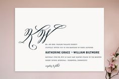 Hyde Park Wedding Invitations by annie clark at minted.com - obsessed