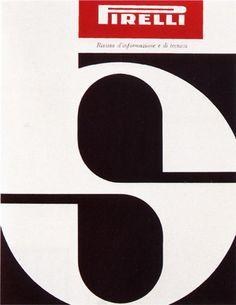 Pirelli magazine, 1959 cover by Giulio Confalonieri and Ilio Negri Vintage Graphic Design, Graphic Design Typography, Graphic Art, Pop Design, Cover Design, Typo Logo, Vintage Advertisements, Design Inspiration, Typography Inspiration