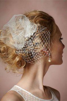 Fabulously Chic BHLDN Bridal Hair Accessories - Weddbook