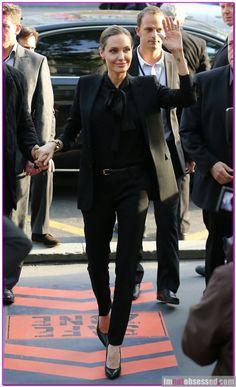 YSL suit