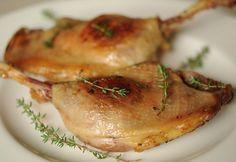 Kacsa konfit Baked Potato, Pork, Potatoes, Chicken, Baking, Ethnic Recipes, Diet, Kale Stir Fry, Potato