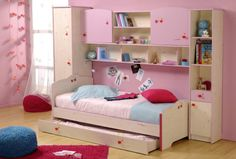 Girls Single Bed with Storage . Girls Single Bed with Storage . Single Beds With Storage, Under Bed Storage Boxes, Bunk Beds With Storage, Kids Storage, Storage Ideas, Kids Room Shelves, White Bunk Beds, Sofa Sale, Kid Beds