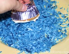 how to make cookie monster cake | How to Make Cookie Monster and Elmo Cupcakes