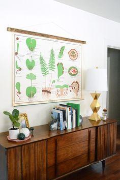 DIY Chart and Poster Frame   Oleander + Palm