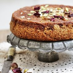 Armenian Nutmeg Walnut Cake from Passionate About Baking - a lovely blog!