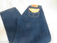 LEVIS 501 Straight leg button fly XX 32 x 30 Original Fit Red Tab